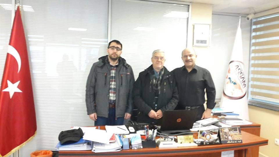 IASSAM Genel Merkezine Ziyaret