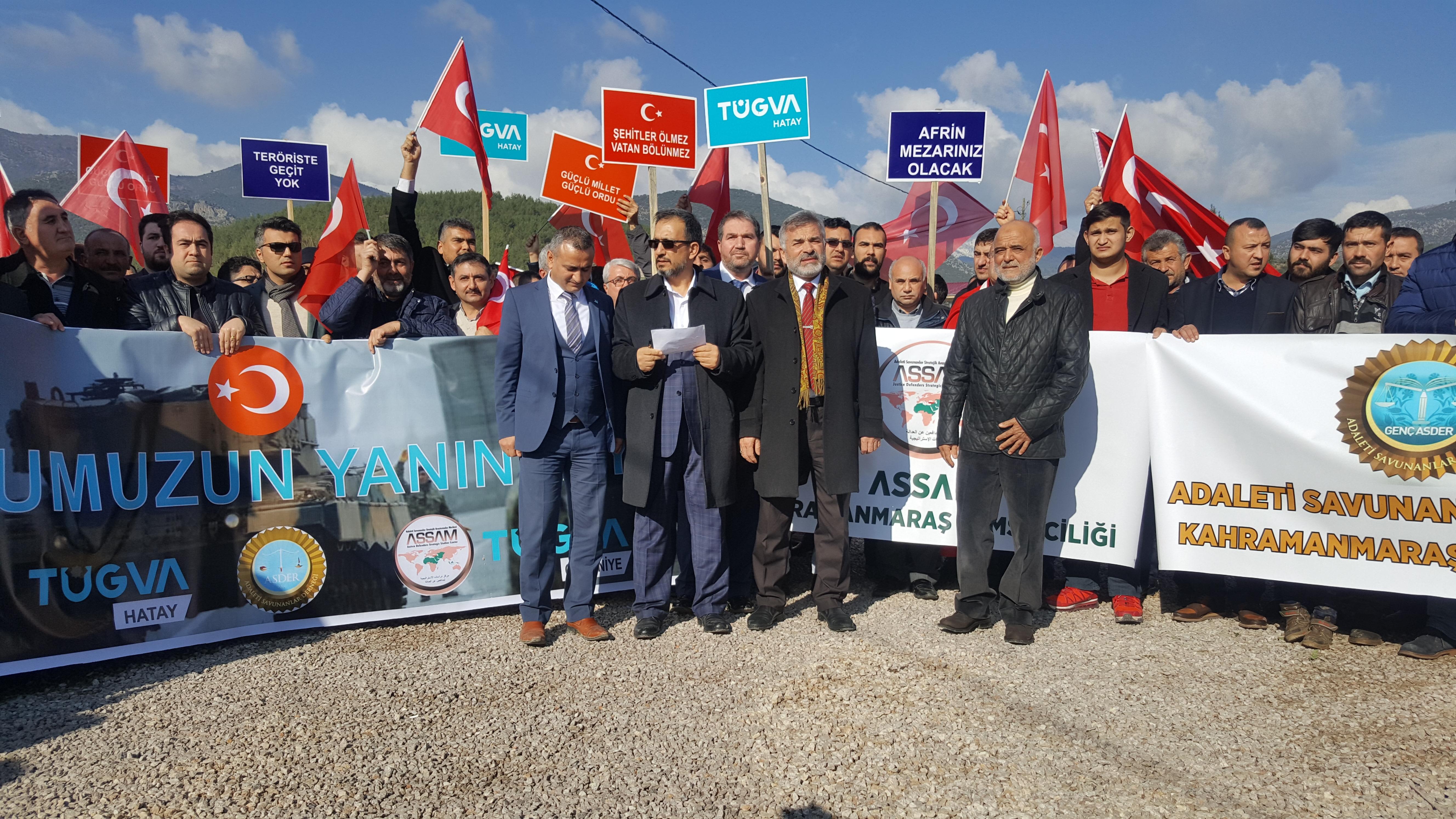 IASDER/ASSAM/TÜGVA Basın Bildirisi