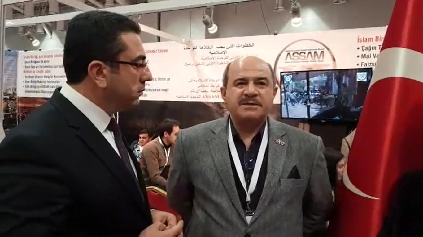 I3. Uluslararası STK Fuarında ASSAM Genel Sekreteri Ali Coşar ile yapılan röportaj