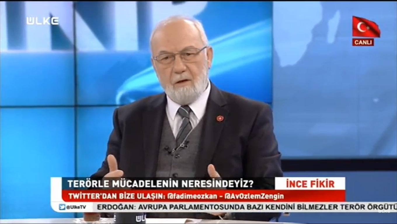 Iكبير مستشاري رئيس الجمهورية ورئيس مجلس ASSAM السيد عدنان تانريفردي بإستضافة محطة ÜLKE TV